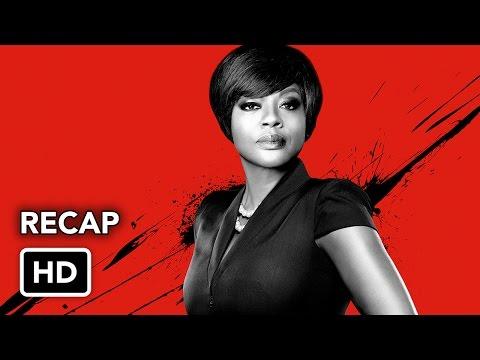 How to Get Away with Murder Season 1 Recap (HD)