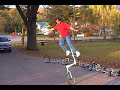 Unicycle Riders with lots of unicycles!!!!
