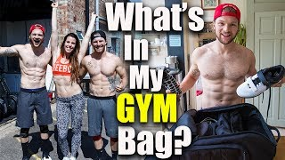 What's In My Gym Bag? This vlog is just crazy, there's been so much going on today!DON'T FORGET TO LIKE, COMMENT & SUBSCRIBE- http://bit.ly/YTLeanMachinesConnect with us and ASK us some Questions: *INSTAGRAM: http://bit.ly/IGLeanMachines*FACEBOOK: http://bit.ly/FBLeanMachines*TWITTER: http://bit.ly/TwitterLeanMachies*SNAPCHAT: @theleanmachines*BLOG/WEBSITE: www.theleanmachines.comAssault bike - http://bit.ly/2o3SCbXI receive a percentage of the revenue from purchases made through links in this post with an asterisk next to them.* Check out our Protein Food Shop hampers here - http://www.proteinfoodshop.com/the-lean-machines* Awesome supplements - https://awesomesupplements.co.uk/?ref=lmLearn more with our BOOK http://www.amazon.co.uk/dp/1472236262/Please only attempt exercises from this video if you are fit to do so, if unsure please consult your health care professional first!