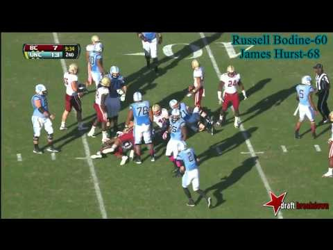 Landon Turner vs Boston College 2013 video.