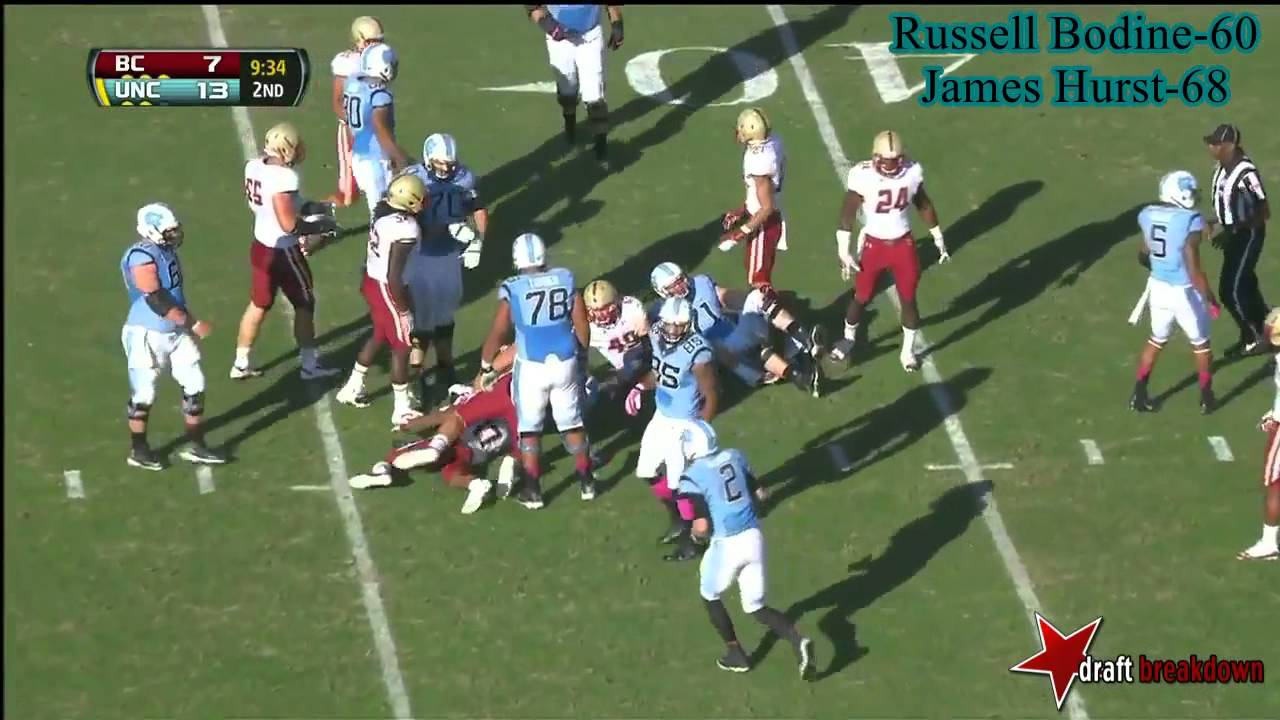 Russell Bodine vs Boston College (2013)
