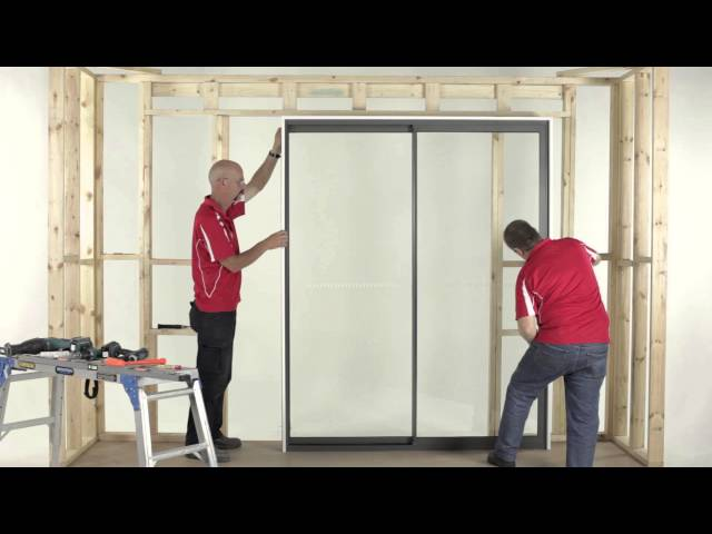 aluminium sliding door installation instructions