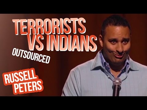 Terrorists vs Indians  Russell Peters - Outsourced