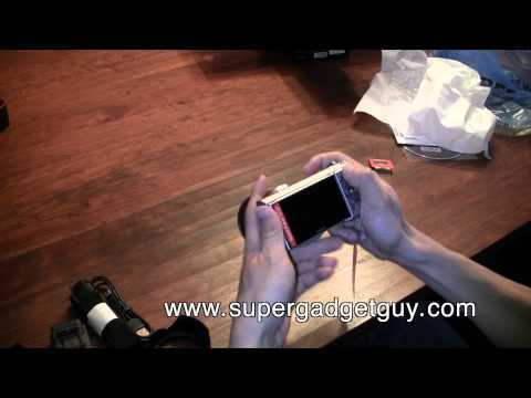 Sony NEX-5N unboxing with 18-55 mm kit lens