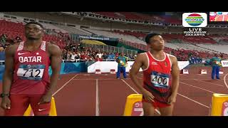 Download Video FULL HD Su Bingtian in the FINAL Round | 2018 Asian Games MP3 3GP MP4