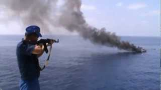Oni się nie patyczkują! Rosyjska marynarka wojenna vs Somalijscy piraci!