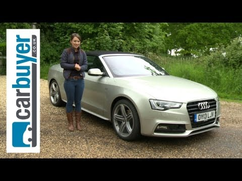 Audi A5 Cabriolet (convertible) review – CarBuyer