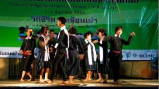 Thai Song Dam Dance