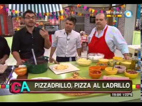 Auténtica pizza al ladrillo