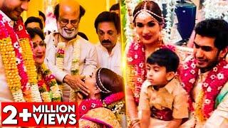 Video EMOTIONAL MOMENTS : Soundarya Rajinikanth & Vishagan's Wedding Celebrations | Marriage Video MP3, 3GP, MP4, WEBM, AVI, FLV Februari 2019