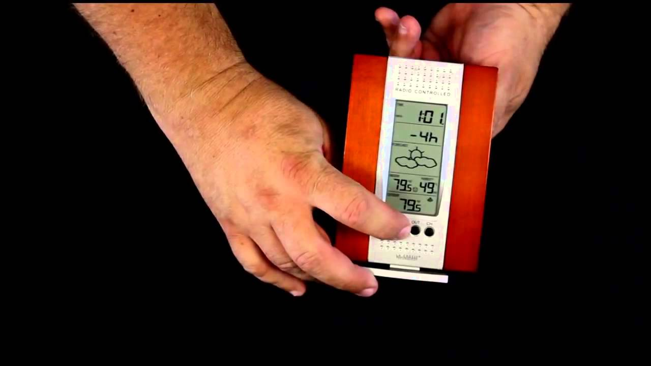 WS-7014CH-IT Wireless Weather Station with Forecast - YouTube