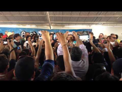 Cássio prestigia festa de Ricardo Coutinho