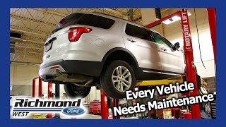 Ford Explorer Maintenance Schedule: When You Need Service