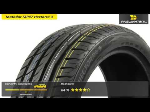 Youtube Matador MP47 Hectorra 3 205/55 R17 95 V XL FR Letní