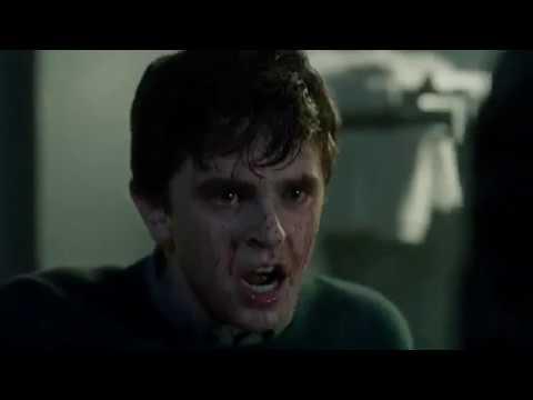 Bates Motel season 5 (shower scene)
