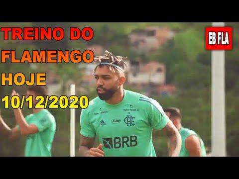 TREINO DO FLAMENGO HOJE - 10/12/2020 - ROGÉRIO CENI FAZ TRABALHO INTENSO NO NINHO DO URUBU