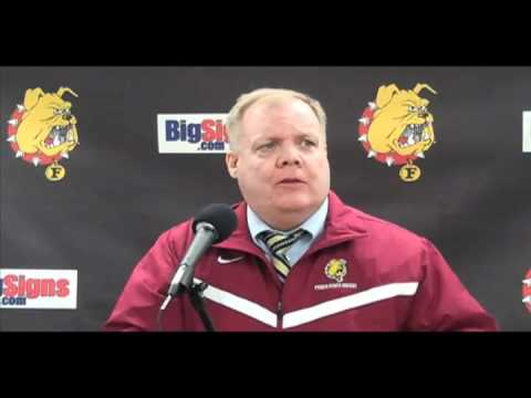 Bob Daniels Post Game Press Conference 2/11/11