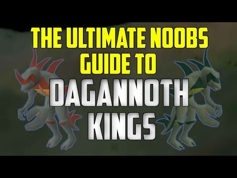 OSRS - The Ultimate Noobs Guide To SOLOING Dagannoth Kings! видео
