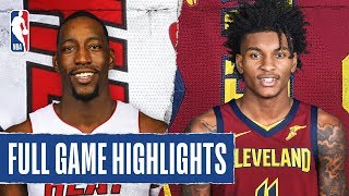 HEAT at CAVALIERS   FULL GAME HIGHLIGHTS   February 24, 2020 by NBA