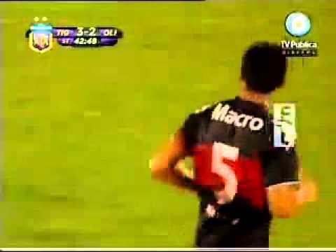 Gol de Diego Castaño a Olimpo de Bahía Blanca
