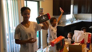 My kids had no idea I bought them a Nintendo Switch! -Become a sponsor on Patreon and get invited to exclusive gaming with OBE1, livestream chats & more!