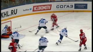 Kevin Poulin saves on Kronwall