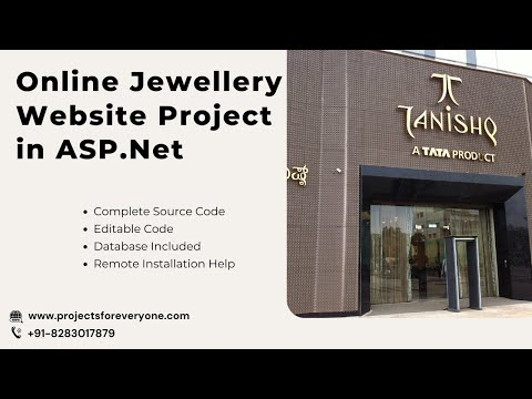 Online Jewellery Shopping Website Project in ASP.Net with Sql Server - ProjectsforEveryone.com