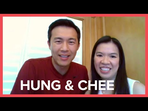 """Hung Nguyen & Chee Lee from """"The Amazing Race"""""""