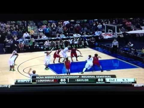 baylor - Louisville women beat #1 Baylor in the 2013 NCAA Women's Basketball Sweet 16.