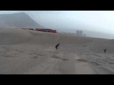 Sandboard en Iquique