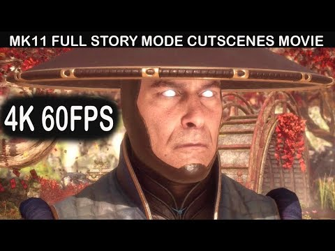 MORTAL KOMBAT 11 All Cutscenes (Game Movie) FULL Story Mode 4K 60FPS