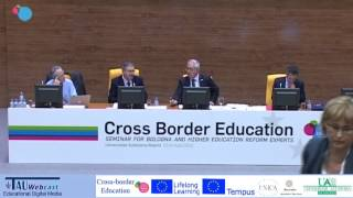 Panel Discussion : 'The Challenges of Cross Border Education'