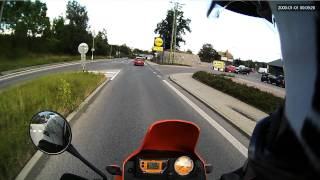 4. Liberec and outskirts on KTM LC4 640 Adventure