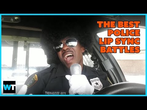 The Best POLICE LIP SYNC BATTLE Videos (Compilation)