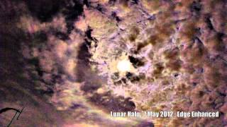 Solar and Lunar Halo : May 2012