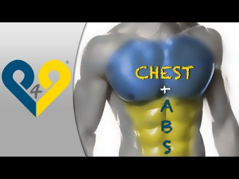 passion4profession - Chest + Abs MEGA workout