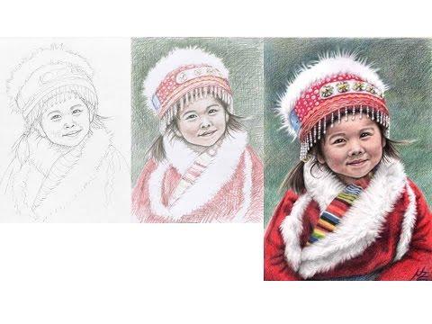 Porträt Zeichnen mit Nicole Zeug – Drawing Portraits