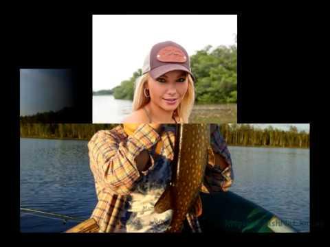 фото женщин на рыбалке