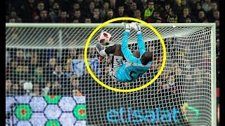 Video Top 10 Gymnastic Goalkeepers goal saves in Football ● HD MP3, 3GP, MP4, WEBM, AVI, FLV April 2019