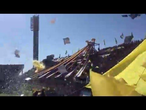 Fantástico recibimiento Rosario Central vs Newell's Old Boys - Los Guerreros - Rosario Central