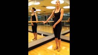 Key Concepts for a Barre Workout- #3- What to do if You Don't Have a Barre