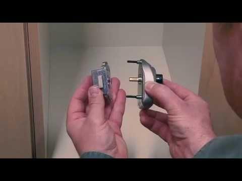 Instruções de instalação do cadeado para vários utilizadores