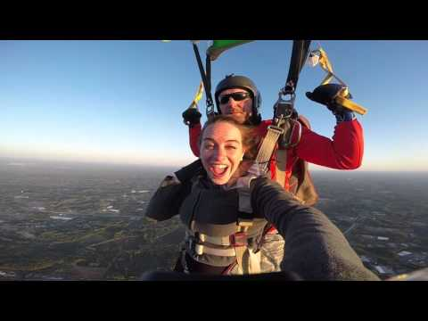 Catherine Hagmann Skydiving