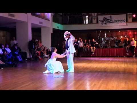 video:Chris & Jessica @ Salsa Rueda Festival in San Francisco on Feb 16, 2014