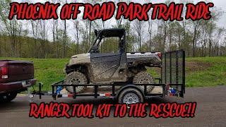 8. 2018 Polaris Ranger XP 1000 Trail Ride