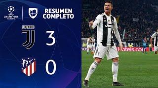JUVENTUS 3- 0 ATLÉTICO DE MADRID – GOLES Y RESUMEN – VUELTA OCTAVOS DE FINAL – UEFA Champions League