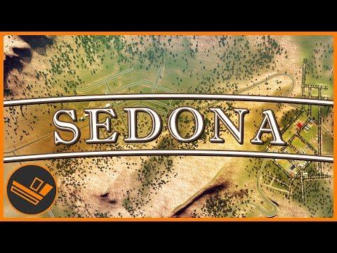 Sedona - Part 8 | MOUNTAIN FOOTHILLS (Cities: Skylines) (видео)