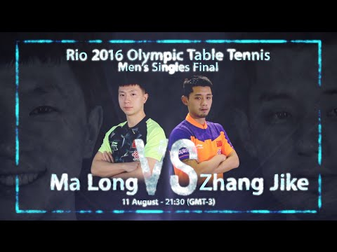 Rio 2016 Men's Singles Final I Zhang Jike V Ma Long