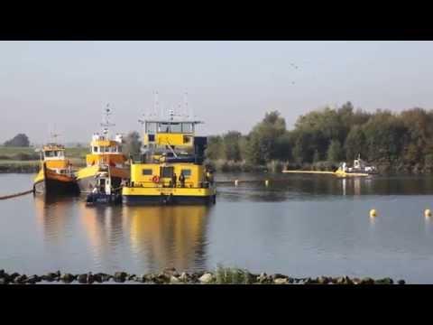 Schelde-Rijnkanaal hele dag afgesloten gezonken binnenvaartschip