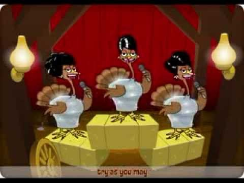 Funny Thanksgiving Cartoon – Must See!